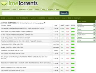 limetorrentlink.net screenshot