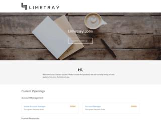 limetray.recruiterbox.com screenshot