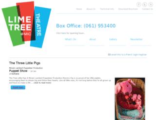 limetreetheatre.ticketsolve.com screenshot