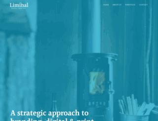 liminal-design.co.uk screenshot