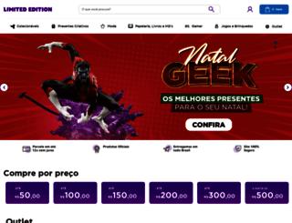 limitededition.com.br screenshot