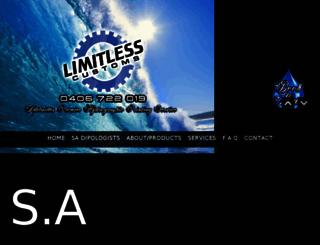 limitlesscustoms.com.au screenshot