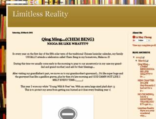 limitlessreality.blogspot.com screenshot
