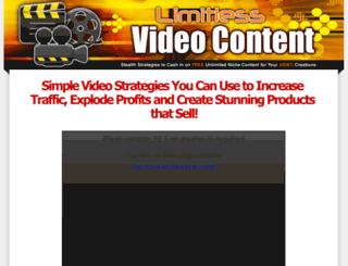 limitlessvideocontent.com screenshot