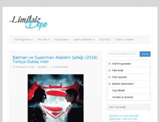 limitsizprogramlarindir.com screenshot