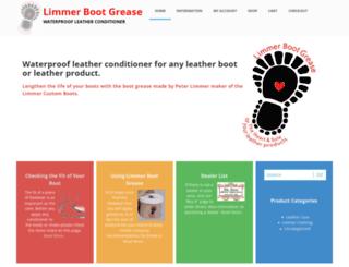 limmerbootgrease.com screenshot