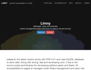 limny.org screenshot