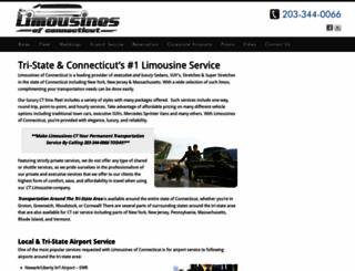 limo-ct.com screenshot