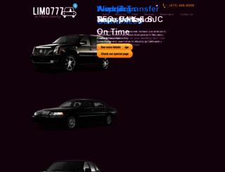 limo777.com screenshot