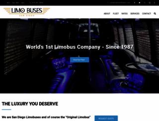 limobuses.com screenshot