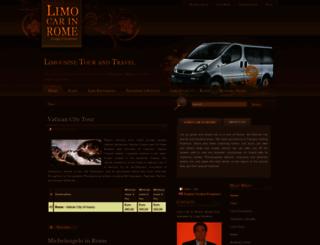 limocarinrome.com screenshot