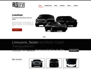 limodallas.com screenshot