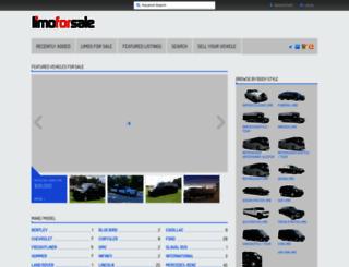 limoforsale.com screenshot
