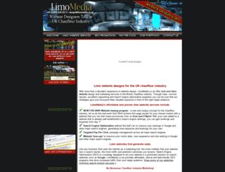 limomedia.co.uk screenshot