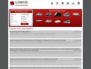 limosnationwide.com screenshot