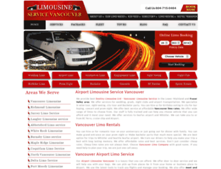 limousineservicevancouver.com screenshot