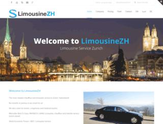limousinezh.ch screenshot