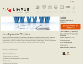 limpus.eu screenshot