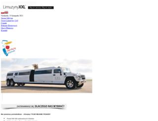 limuzynyxxl.pl screenshot