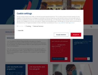 lincasiapacific.com screenshot