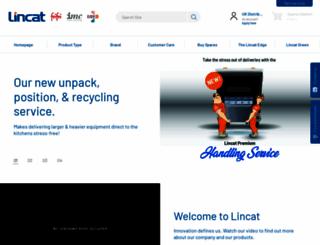 lincat.co.uk screenshot