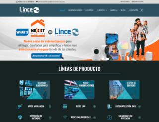 lincecomercial.com screenshot
