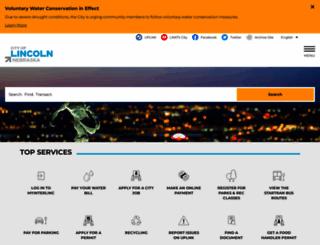 lincoln.ne.gov screenshot
