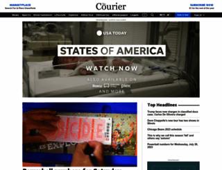 lincolncourier.com screenshot