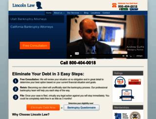 lincolnlaw.com screenshot
