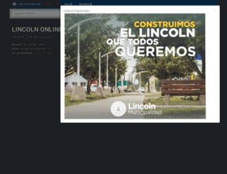 lincolnonline.com.ar screenshot