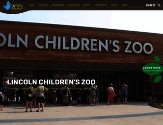 lincolnzoo.org screenshot