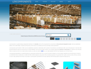 lincomponents.com screenshot