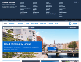 lindab.com screenshot