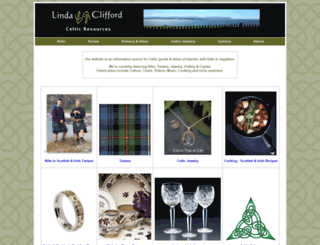 lindaclifford.com screenshot