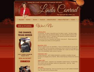 lindaconrad.com screenshot