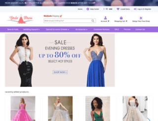lindadress.com screenshot