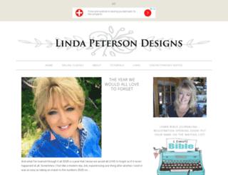 lindapetersondesigns.com screenshot
