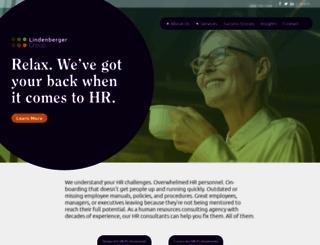 lindenbergergroup.com screenshot