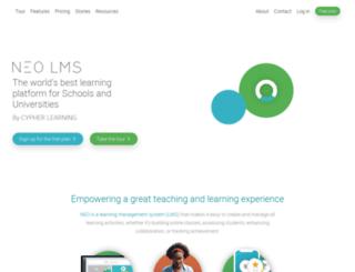 lindenhall.edu20.org screenshot
