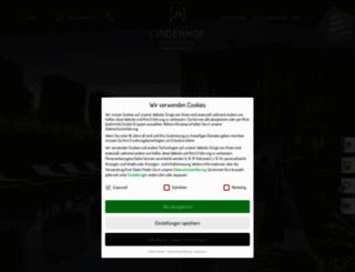 lindenhof.it screenshot