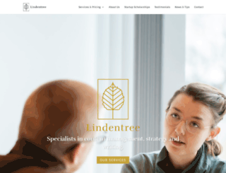 lindentree.com screenshot