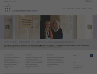 lindenundmosel-blog.de screenshot