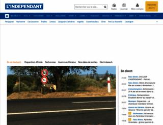 lindependant.com screenshot