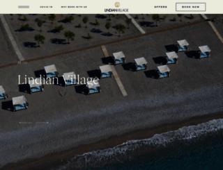 lindianvillage.gr screenshot