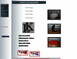 lindner-karosserieteile.de screenshot
