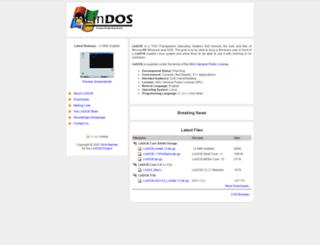 lindostos.sourceforge.net screenshot