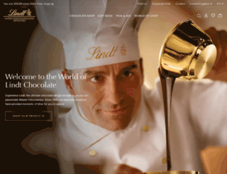 lindt-shop.co.uk screenshot