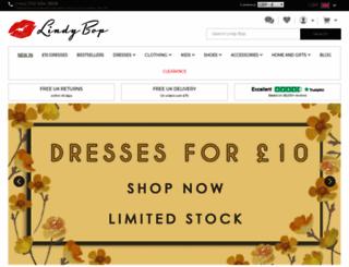 lindybop.co.uk screenshot