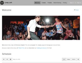 lindyloft.frontdeskhq.com screenshot