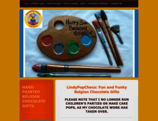 lindypopcakesandchocs.co.uk screenshot